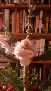Angel on our tree